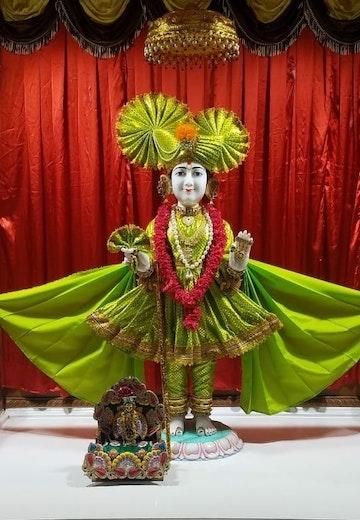 Byron Temple (ISSO) Murti Darshan