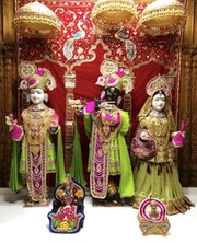 Chicago Temple (ISSO) Murti Darshan