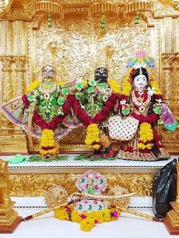 Dholera Temple Murti Darshan