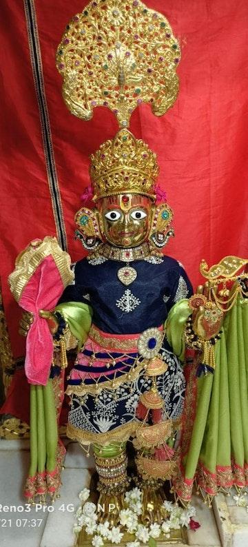 Dholka Temple Murti Darshan