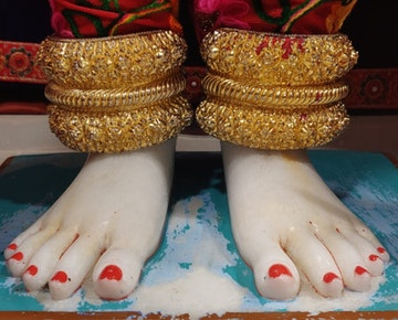 Leicester Temple (ISSO) Murti Darshan