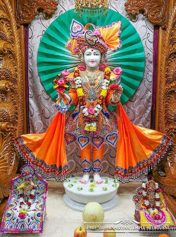 Melbourne Temple Murti Darshan