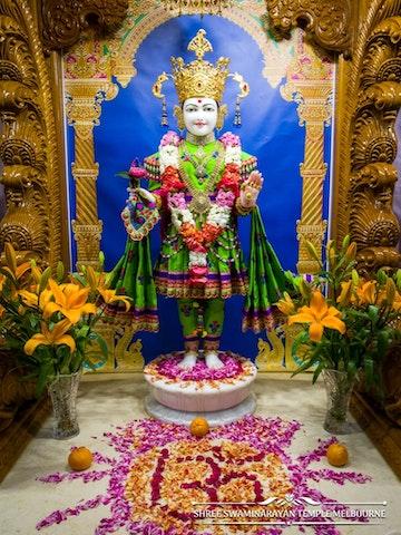 Melbourne Temple Murti Darshan