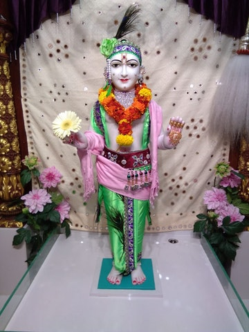 Perth Temple Murti Darshan