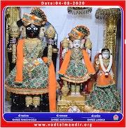 Vadtal Temple Murti Darshan